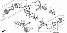 honda motorcycle 2004 oem parts diagram for turn signal partzilla com