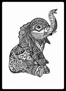 Malvorlagen Mandala Elefant Elefant Kunst Tattoos Elefanten Und Mandala