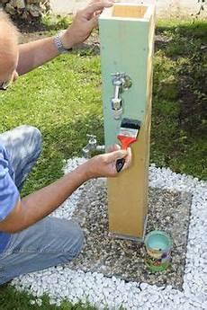 wasserzapfstelle garten bauen bauanleitung tomatenhaus selber bauen unser beispiel und bauanleitung