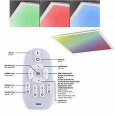 Led Deckenleuchte Mit Fernbedienung - led panel deckenleuchte mit fernbedienung farbe reines