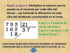 como dividir por tres cifras divisiones de dos cifras en el divisor