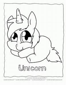 Malvorlagen Unicorn Yellow Picture Of A Unicorn To Color Coloring Home