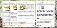grammar worksheets twinkl 24997 ks2 word classes differentiated activity sheet ks2 story the