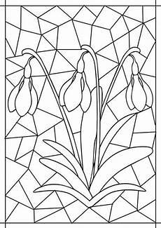 Malvorlagen Blumen Kindergarten Glasmalerei Coffeefest In 2020 Mit Bildern Fr 252 Hling