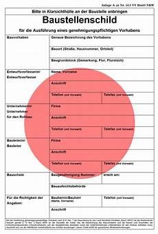 Genehmigungsfreie Bauvorhaben Brandenburg - file baustellenschild nrw rot png wikimedia commons