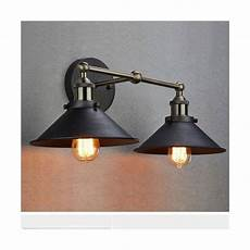 claxy ecopower simplicity industrial edison glass 2 light wall sconces for sale online