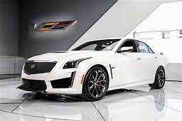 2016 Cadillac Cts V Front Three Quarter Photo 3