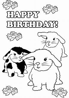 Gratis Malvorlagen Happy Birthday Birthday Coloring Pages