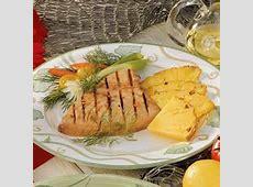 tuna steaks with pineapple sauce_image