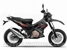Satria Fu Modif Trail by Satria Modification