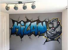 Graffiti laten maken   Kinderkamer GraffitiKinderkamer
