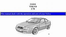 online car repair manuals free 2006 volvo c70 lane departure warning volvo c70 2000 owner s manual pdf online download