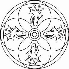 Mandala Malvorlagen Dinosaurier Dinosaurier Und Drachen Gratis Mandala Bilder