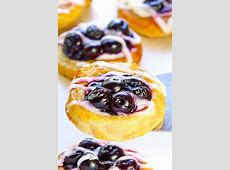 blueberry  cheese danishes_image