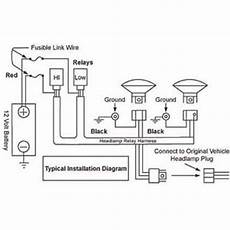 9007 Bulb Wiring Diagram by Hid With Relay Wiring Diagram Wiring Source