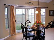 Kitchen Curtains For Bay Windows by Image Result For Bay Window Curtains For Kitchen Sliding