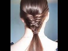 hair tutorial the mermaid tail youtube