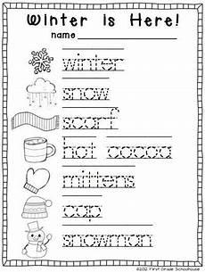 free winter handwriting worksheets 20021 winter writing kindergarten winter words kindergarten writing activities writing activities