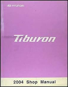 2004 hyundai tiburon repair shop manual original 2004 hyundai tiburon repair shop manual original