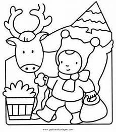 Malvorlage Rentier Einfach Rentier 42 Gratis Malvorlage In Rentier Weihnachten