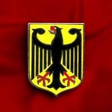 germany eagle coat arms crest german flag lapel pin