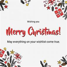 simple merry christmas greeting card template postermywall