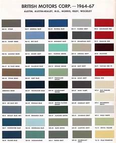 version of bmc paint color codes car paint colors