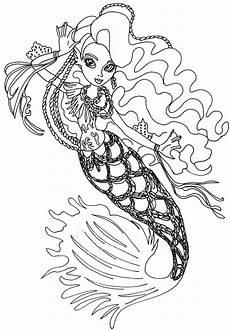Malvorlagen Sirena Sirena Boo High Coloring Page High