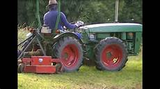 2 Holder Ag3 Allrad Weinbau Traktor Im Einsatz Mit