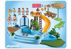 Playmobil Ausmalbilder Schwimmbad Pool With Water Slide 4858 A Playmobil
