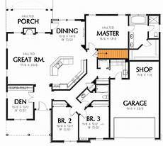 single story house plans with walkout basement plan 69022am single story home plan single story house