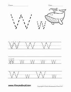 letter w worksheets for pre k 23711 letter w worksheet tim s printables