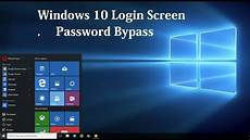 how to bypass windows 10 login screen without password how to disable windows 10 login lock screen password bypass youtube