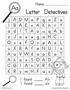 letters a z worksheets for kindergarten 24665 letter detectives printable a z letter searches search printable letters and alphabet