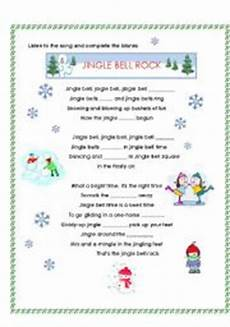 jingle bell rock esl worksheet by allbright