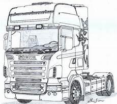 scania r caminh 227 o desenho desenho de carreta desenhos