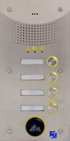 06 0161 Interphone Erp 4 Boutons Intratone
