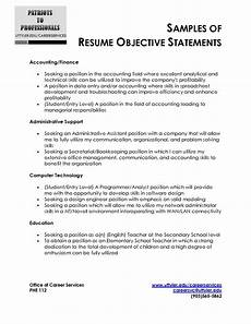 resume objective statement outdated exles of great resume objective statements resume objective writing guide exles and