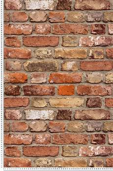 Mur De Briques Orange Collection Authentic 2 De