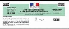 avis de contravention stationnement sans pv contravention pour non d 201 signation la cour de cassation