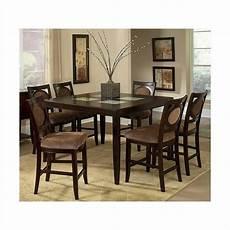 steve silver montblanc 5pc pub dining room set in merlot mb545 set