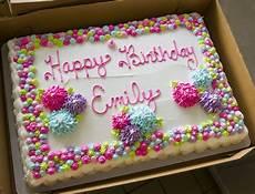 bakery cakes birthday cake decorating birthday sheet cakes birthday cake pinterest