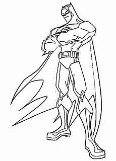 batman coloring page dr