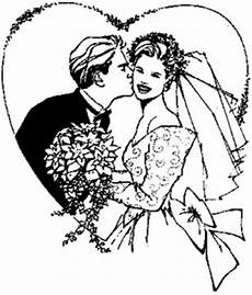 Gratis Malvorlagen Hochzeit Brautpaar Im Herz Ausmalbild Malvorlage Hochzeit