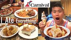 cruise carnival foods carnival victory 2018 youtube
