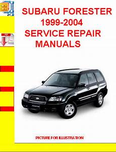 old car repair manuals 1999 subaru forester on board diagnostic system subaru forester 1999 2004 service repair manuals tradebit
