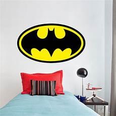 batman logo wall decal batman wall decal hero bedroom wallpaper mural sticker