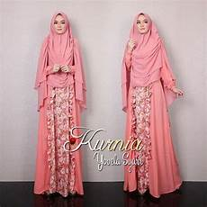 Gaya Muslim Modern Baju Gamis Terbaru Yovela Syar I By Kurnia
