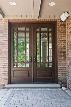 classic front door 511 dd cst mahogany walnut by glenview doors in chicago il