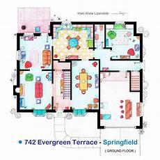 simpsons house floor plan quot the simpsons quot floor plan 1st floor here s the first
